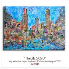 Acrylbild-TheCity2020